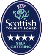 scottish tourist board 4-start self catering